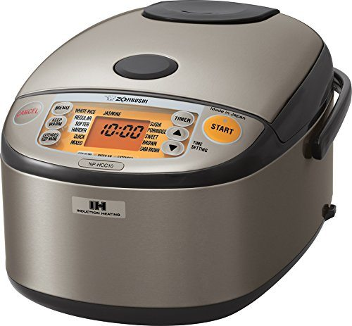 Best Stainless Steel Rice Cooker - Zojirushi NP-HCC10XH