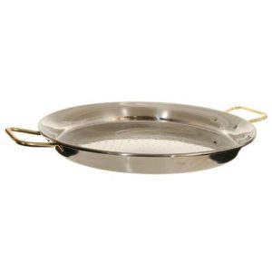 Garcima 18-Inch Stainless Steel Paella Pan