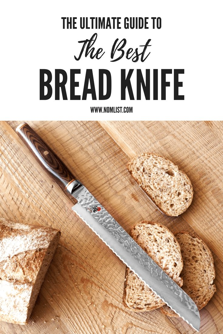 We recommend that you choose to buy a knife specifically designed for slicing bread. Even if you're not the type to entertain, you still should make an effort for your family and for yourself to slice good bread the right way – with a bread knife. Here are our top 10 Best Bread Knives! #breadknife #knife #allaboutbread #breadrecipes #breadathome #cookbread #breadlife #breadknives #knives #kitchenknives #kitchenknife #kitchentools