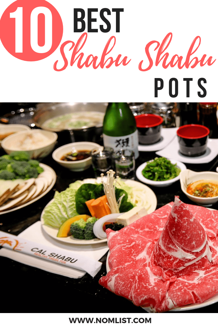 You can make delicious shabu shabu in your own kitchen, here are the top 10 electric shabu shabu pots! #shabu #shabushabu #japanese #japanesefood #Japan #japanesecuisine #hotpot #japanesehotpot