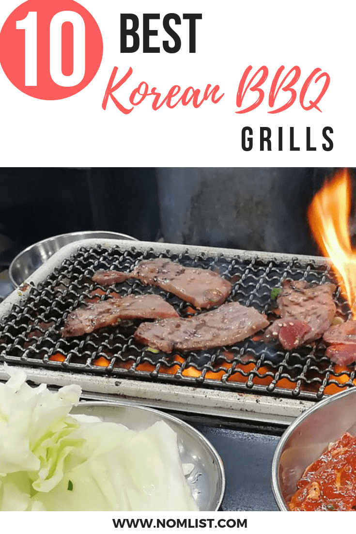 Best Korean BBQ Grill Tables