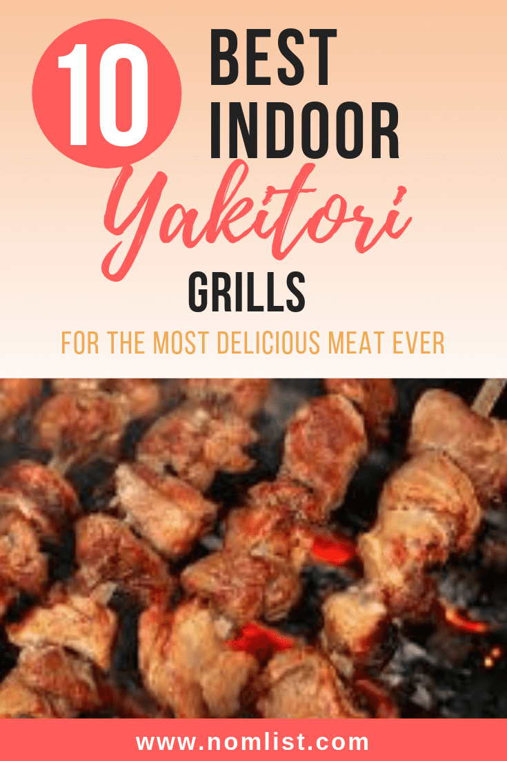 Yakitori grills are the perfect kitchen appliance for Japanese Cooking and recipes at home. Check below to find out our top 10 picks for the best indoor Yakitori grills! #japanese #japanesegrill #grillathome #grilling #japanesefood #japanesecuisine #yakitori #japanesebbq #barbecue #kitchenappliances