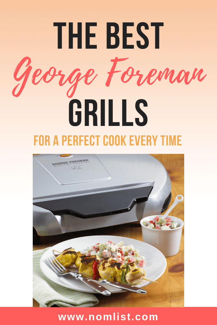 There's nothing like the convenience of having a George Foreman grill in your kitchen. Not only are these grills easy to use, but they're also super compact and yield delicious, perfectly grilled meats in a healthy and scrumptious way. So, how do you pick the best George Foreman grills? We did the dirty work for you and found the low-down on the best George Foreman grills on the market just for you. #grill #georgeforeman #healthy #healthygrilling #grilling #grilled #bbq #healthycooking #kitchenappliances #kitchentools