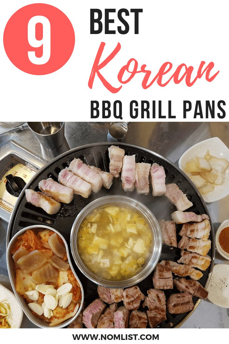 best Korean BBQ Grill Pans