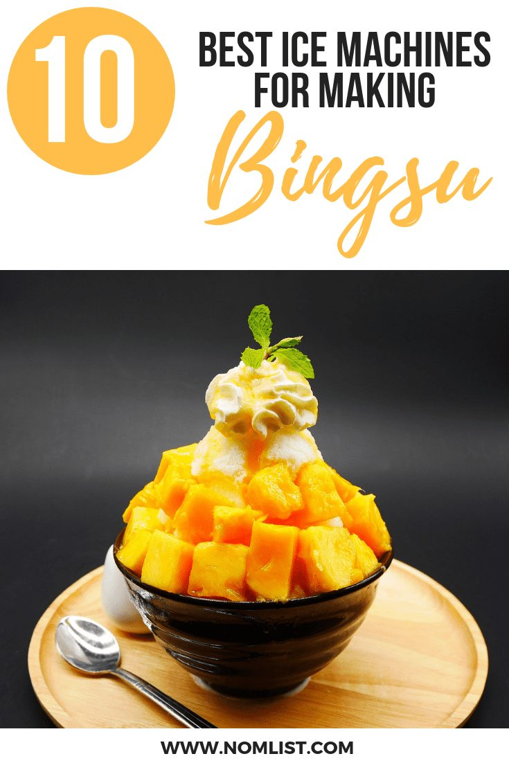 10 Best Ice Machines for making Bingsu