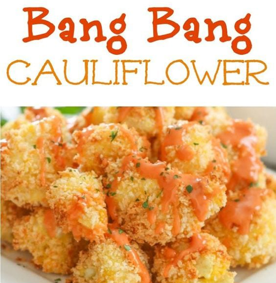 Fried Bang Bang Cauliflower