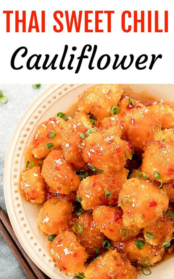 Thai Sweet Chili Cauliflower