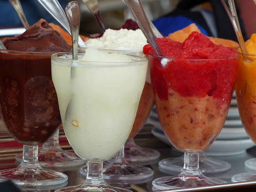 What the eat in Sicily - Granita