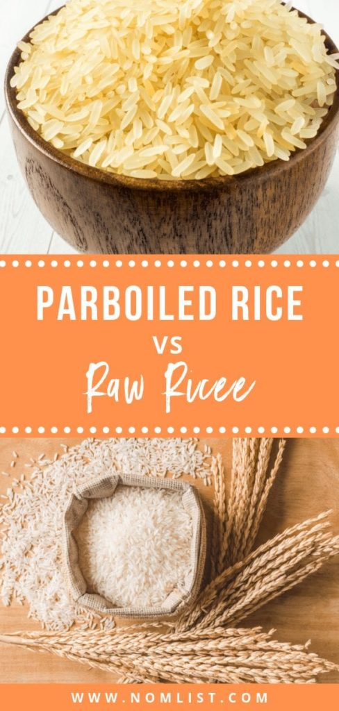 Looking for the perfect bowl of rice? We're going to break down the goods and the bads of parboiled rice vs raw rice in an epic battle of the grains. #rice #parboiledrice #rawrice #ricerecipes #allaboutrice #asianfood