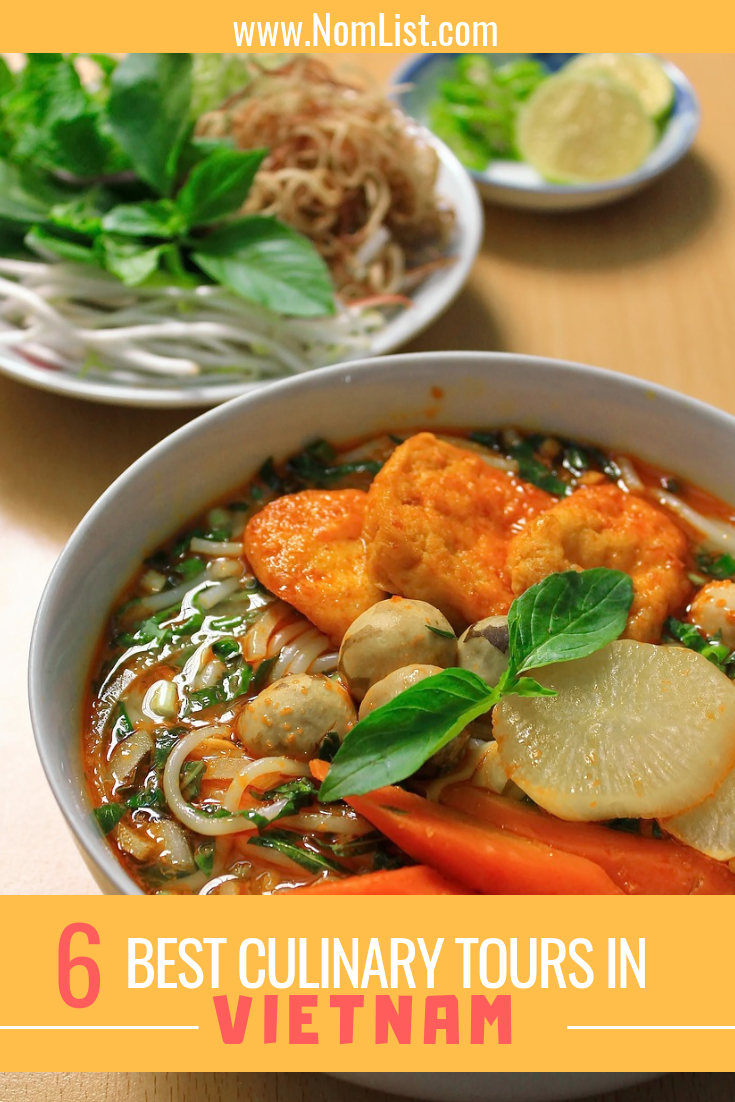 Best 6 Culinary Tours in Vietnam