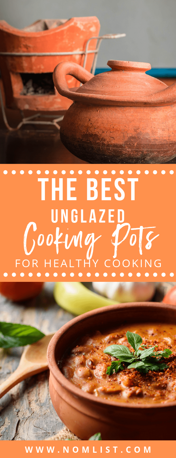 Earthenware pots are beautiful to look at, unique, and relatively inexpensive. And because of clay's unique properties, there are some unexpected benefits to cooking in unglazed clay pots. #claypot #claypotcooking #healthycooking #kitchenware #kitchentools