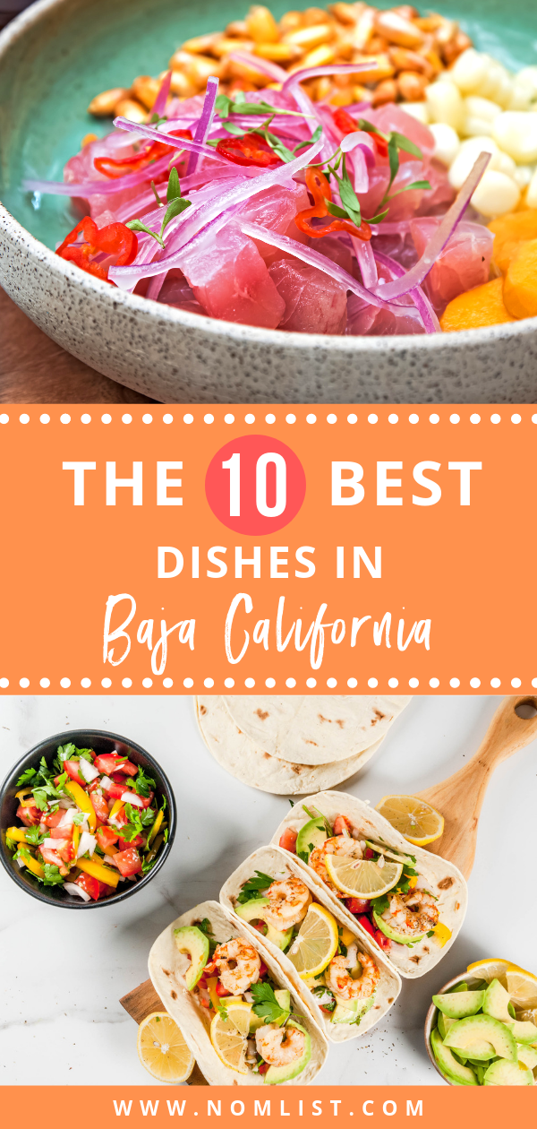Baja Med Cuisine combines flavors from Mexico, Asia, and the Mediterranean to deliver fresh, savory goodness to your taste buds. We've collected some of the most DELICIOUS foods you MUST try on your next trip to Baja California.  #bajacalifornia #california #food #healthyfood #mexicanfood #bajacalifornian #bajafood #worldfood #foodtravel #travelfood