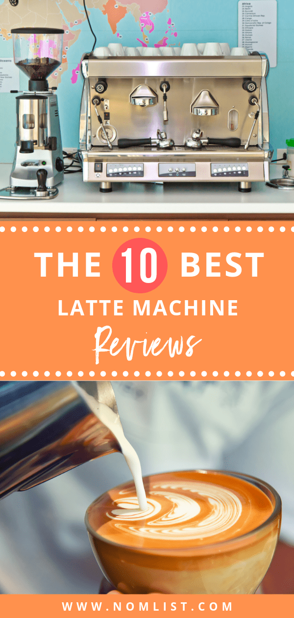 Now you can make your favorite lattes in the comfort of your home with a latte machine. How do you get one? We did the dirty work for you and wrote the top 10 best latte machine reviews.  #latte #lattemachine #starbucks #coffee #coffeemaker #lattemaker #latterecipes #lattecoffee #kitchentools #kitchenappliances #coffeerecipes