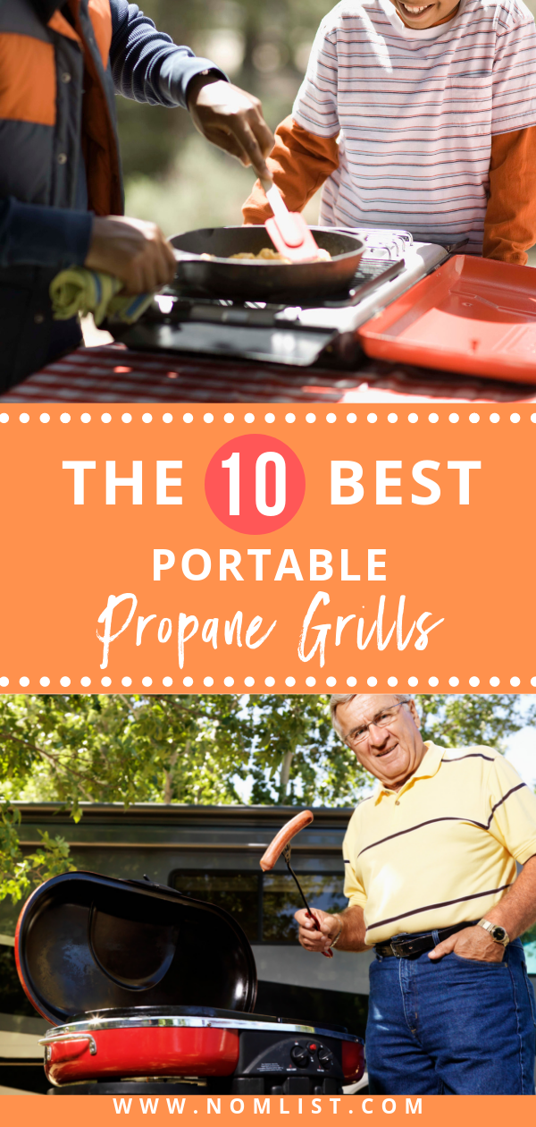 The best way to fire up the grill while you're away from home is to use a portable one. The ones listed below are some of the best propane portable grills around.  #grill #griling #grillingrecipes #propanegrill #portable #portablecooking #bbq #barbecue #bbqrecipes #kitchenappliances