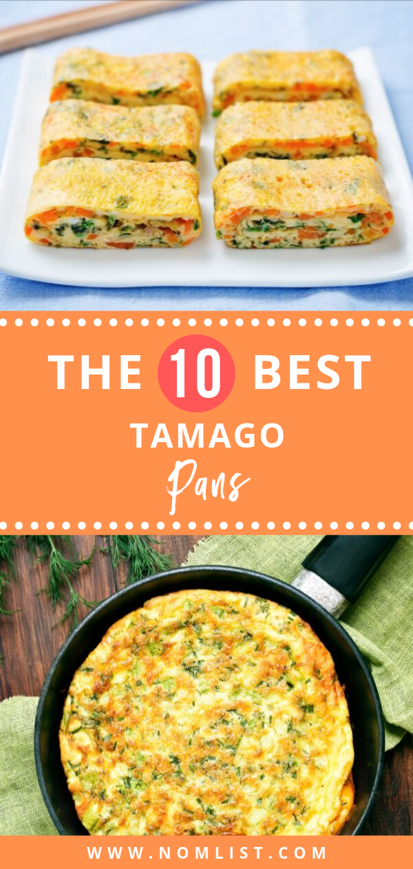 Tamago is usually enjoyed alone, with seasonings, or on sushi. In order to make this dish, you need to use a tamago pan. So, how do you choose the best one? We reviewed the best tamago pans on the market just for you! #japanesefood #japan #japanrecipes #kitcheapplices #pans #kitchentools #asianfood #asiancooking #asianrecipes #tamago #tamagopans
