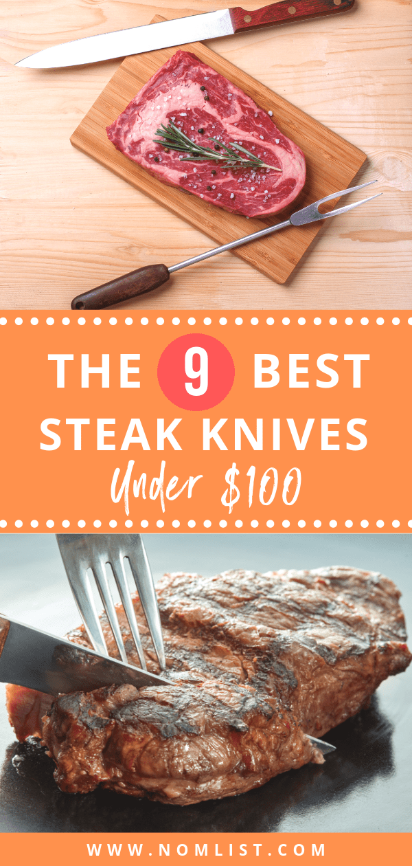 Finding a set of high-quality steak knives doesn't mean breaking the bank! No matter the type of steak knife blade you prefer, with a serrated or straight edge, or what type of handle you like, there are many economical options available. We've found the best sets of steak knives for under $100.#knife #knifeset #knives #kitchenknives #kitchen #kitchentools #cutlery #knifesets #steaks #steakknife #steakknives