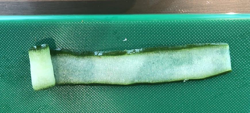 Yum Pla Salmon Thai Salad - Cucumber Roll 1 -Banyan Tree Bangkok Cooking Class