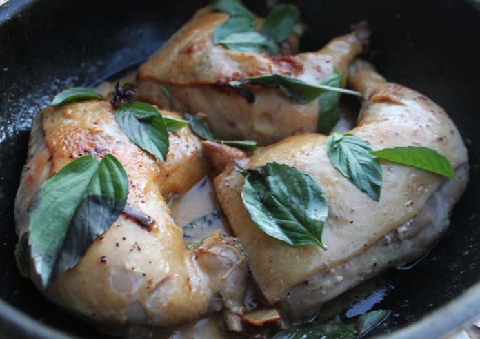 Fire Island - Recipes from Indonesia - coconut milk chicken