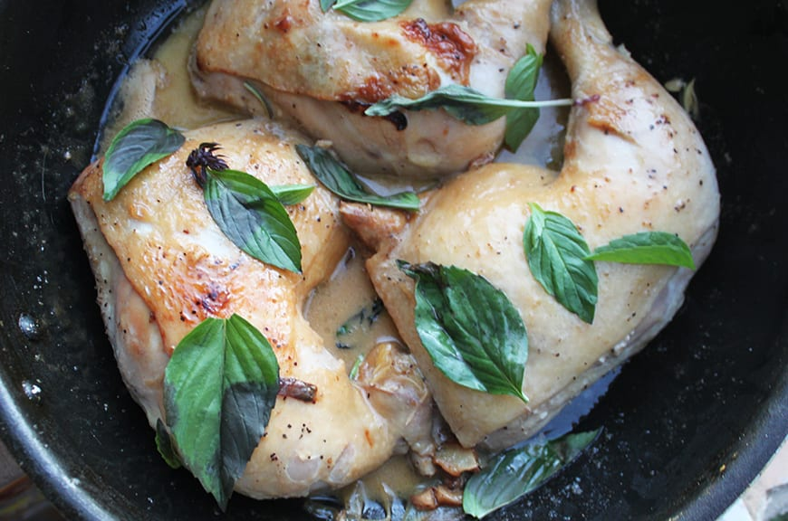 Fire Island - Recipes from Indonesia - coconut milk chicken