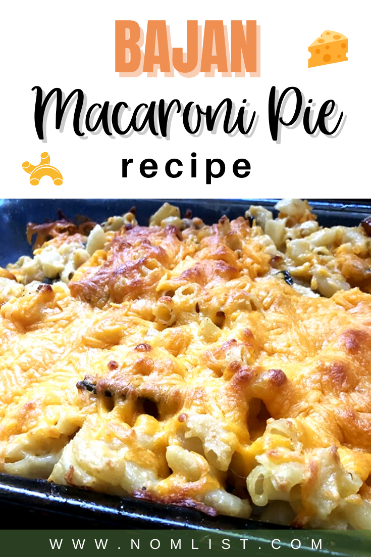 Love cheese and macaroni? You're going to love this Macaroni Pie Recipe straight from Barbados. It's packed with gooey cheesiness that the whole family will love, plus some sneaky vegetables. #marcaroni #macaronipie #macandcheese #dinnerrecipes #recipesaroundtheworld