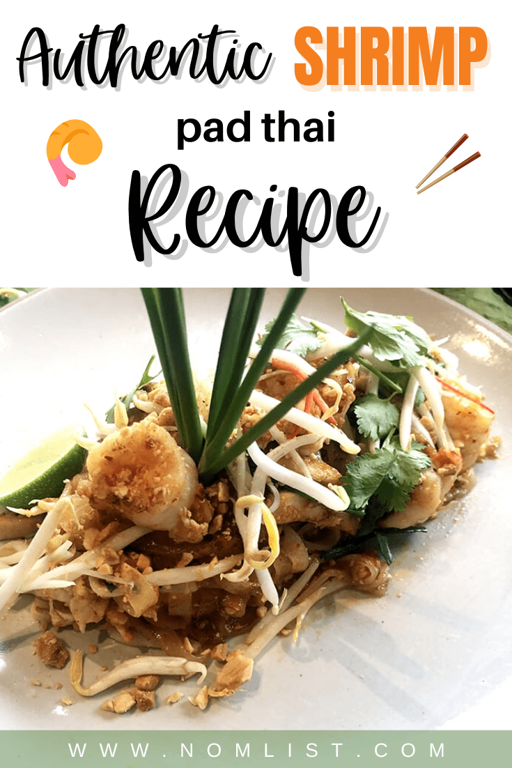 I was so excited to take this cooking class during my stay at the gorgeous Banyan Tree Bangkok. We also made a delicious Thai Pomelo Salmon Salad, but of course the star was the famous Thai dish Pad Thai.   This dish is so delicious, savory and sweet, it's definitely a crowd pleasing favorite! #padthai #thairecipes #recipes #asianfood #thaifood