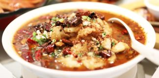 Sichuan Water Boiled Fish Chinese Recipe