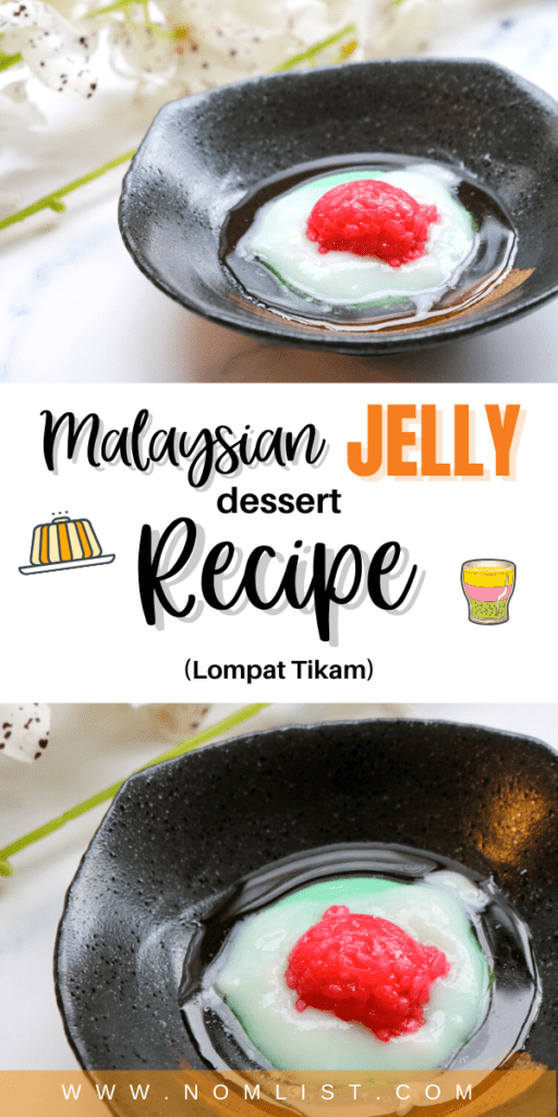 I had the honor of trying an unusual but absolutely unforgettable Malaysian jelly dessert. That's why I decided to share this Lompat Tikam Recipe provided by the Malaysian Tourism Board. #malaysianfood #asianfood #jelly #desserts #dessertrecipes #malaysia #jellyrecipe #dessert