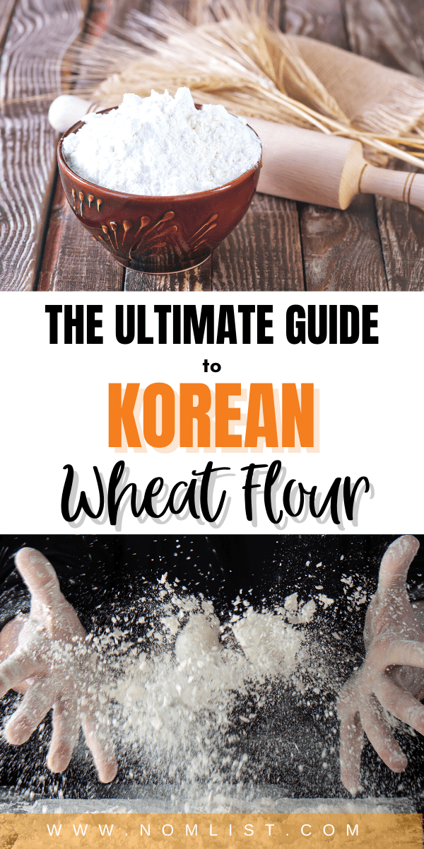 You can't substitute white flour for Korean wheat flour and expect to make a mean Korean-style vegetable pancake. You have to use a specific type of flour that is typically only authentically made in Korea – South Korea that is. If you've never heard of it before, here's everything you need to know. #wheatflour #koreanflour #koreanfood #koreanrecipes #koreannoodles #flour