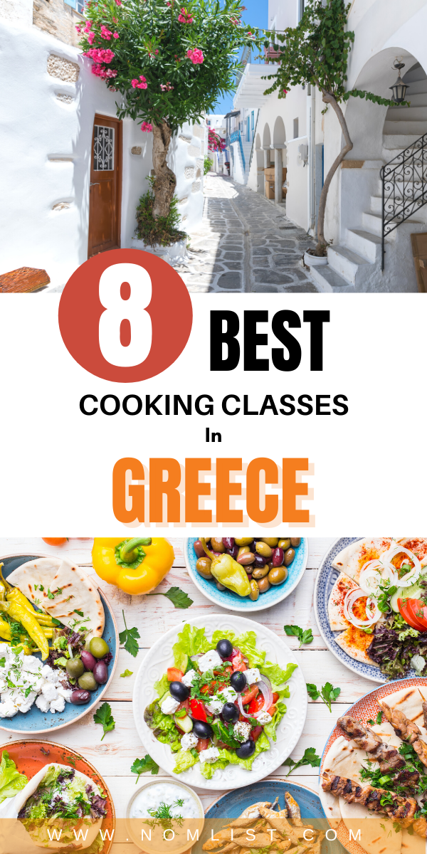 We chose four of the top regions for authentic Greek delicacies and found the best classes for you to take. Plan on being in Mykonos, Crete, Santorini, or Athens? We've got you covered – pick one city or pick all four to stun your friends and family when you come back home able to prepare Greek food like they've never had it before! #cooking #cookingclass #greece #travel #greekfood #greek