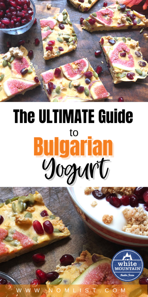 Want a delicious and healthy snack that's worthy of your favorite food channel? This Bulgarian Yogurt recipe and guide will give you the low down on all things Bulgarian Yogurt. #healthy #yogurt #yogurtrecipes #bulgarianyogurt #Bulgarianfood #easyrecipes