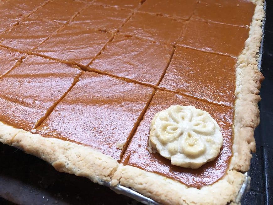 Pumpkin Slab Pie - 4