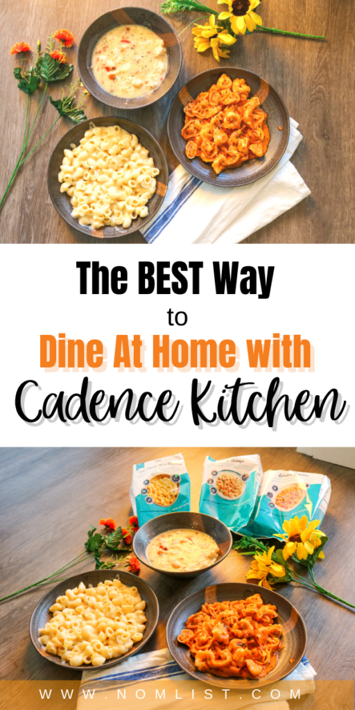 If you're busy, it's hard to find the right time to cook. Cadence Kitchen is one of my favorite go-to frozen meals if you want to eat restaurant quality food at home. #cadencekitchen #food #frozenfood #easymeals #quickrecipes