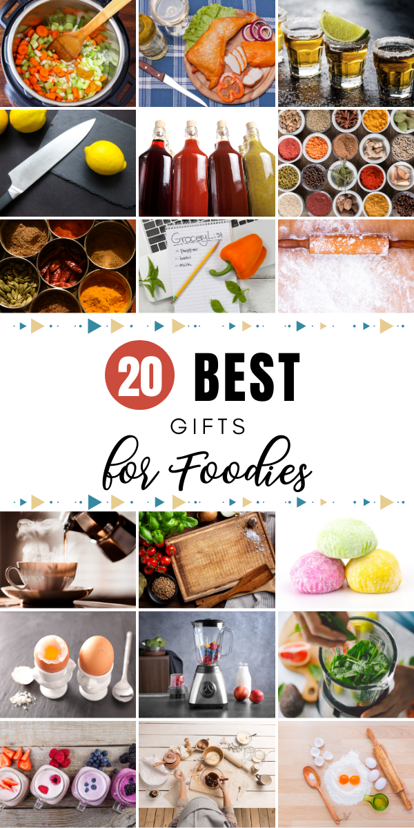 Looking for the perfect gift for your foodie family member or friend? We did a roundup of the best gifts for foodies. #foodies #gifts #giftguide #food #kitchentools