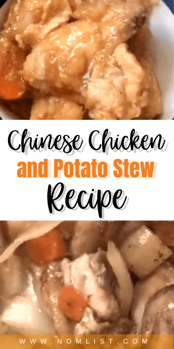 Looking for a delicious and authentic recipe for the winter? Check out this irresistible Chinese Chicken and Potato Stew recipe. #chinesefod #asianfod #asianrecipes #chinesestew