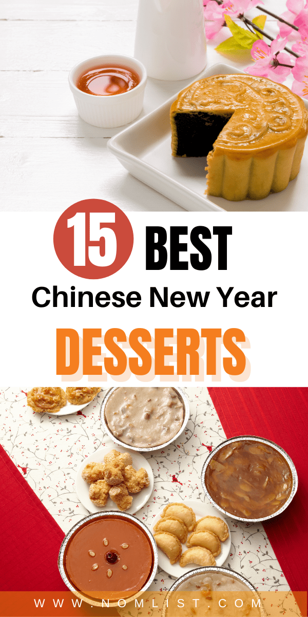 Looking to bake up some delicious Chinese New Year Desserts? Check out these incredible recipes that will tantalize your tastebuds this new year. #chinesefood #chinesedesserts #chinesenewyear #asianfood #asiandesserts